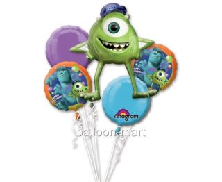 Balloons Monsters University Birthday Party Bouquet Disney Supplies Boys Girls