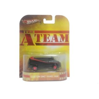 The A Team Custom Panel Van 2013 Retro Hot Wheels 1 64 Scale Die Cast Car X8909