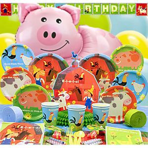Eieio Birthday Party Supplies Farm Barnyard Animals Pick 1 or Create Set