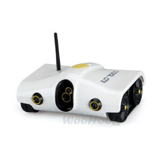 RC Built in Mic Night Vision Spy Tank Camera Remote WiFi Controlled Robotic Toy