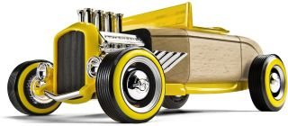 Automoblox Hot Rod HR 3 Coupe Kids Play Wooden Building Block Toy 985013 New