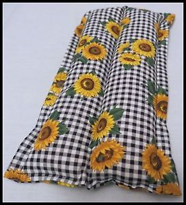 Small Heating Cooling Pad Microwavable Therapeutic Corn Bag Sunflowers
