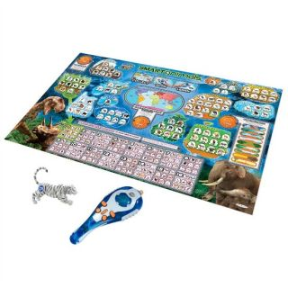 Discovery Kids Talking Scanopedia Animal Scanner Interactive Map Bengal Tiger