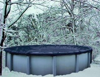 24' Round Above Ground Winter Pool Cover 8 yr Warranty