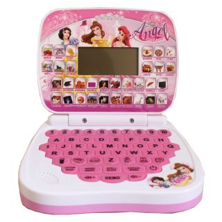 Angel Baby Learning Computer Kid's English Educational Learning Toy Machine LCD