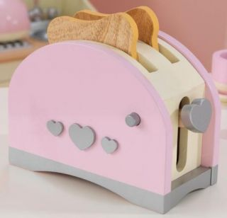 KidKraft Prairie Toaster Kids Pretend Kitchen Set