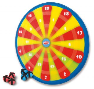 New Kids Darts Toy Plastic Game Set 6 Velcro Darts Dart Board w Free SHIP