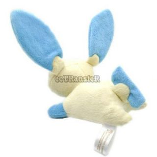"5 5"" Minun Pokemon Cute RARE Soft Plush Toy Doll PC1831"