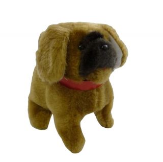 Little Bobby Battery Operated Barking Dog Plush Toy Childrens Kids Toys Animal