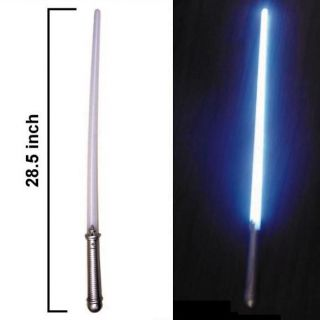 Blue LED Light Saber Swords Toys Pretend Play Kids New Sword Lightup Toy Boys