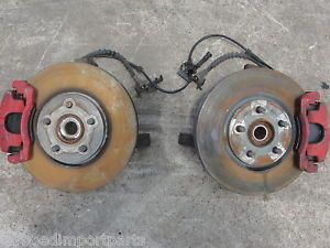 SRT4 Dodge Neon SRT 4 Mopar Front Brakes Hubs Knuckles Spindles Red Set Up