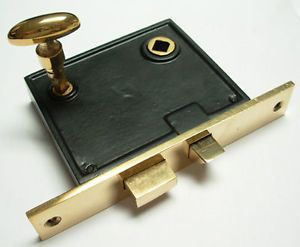 Heavy Duty Privacy Mortise Lock Strike Plate Turn PC