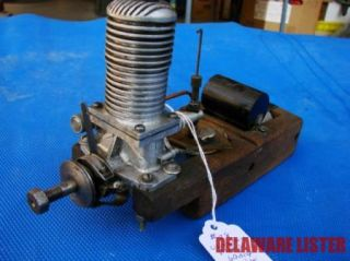 Vintage Unknown Maker Ignition Model Small Airplane Engine Motor Tank Coil