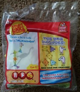 Smart Links Flamingo Wendys Kids Meal Toy