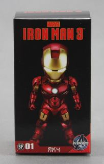 Kids Logic Marvel Iron Man 3 Mini LED Mark IV MK4 Figure Pendant