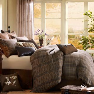 Woolrich Pine Creek Multi Brown Queen Comforter Set