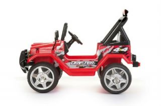 Battery Powered Ride on Toy Car Jeep Wrangler Power Wheel