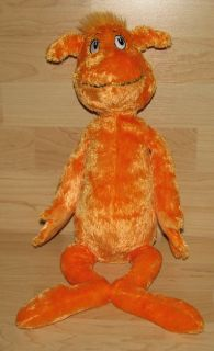 Kohl's Cares for Kids Dr Seuss Orange The Foot Book Character Stuffed Toy Doll