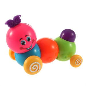 Funny Cute Baby Kids Colorful Inchworm Carpenterworm Twist Forward Movement Toy