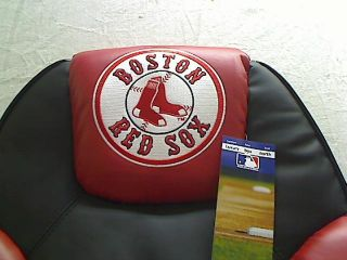 MLB Boston Red Sox Leather Office Chair