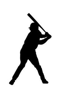 Baseball Softball Sports Vinyl Decal Sticker Car Truck Home Wall iPod Laptop