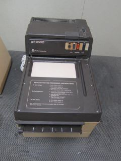 Air Techniques A T2000 Dental x Ray Film Processor No Solenoid w Replenisher