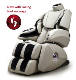 Osaki OS 7075R Massage Chair Zero Gravity Heated Recliner Foot Roller Therapy