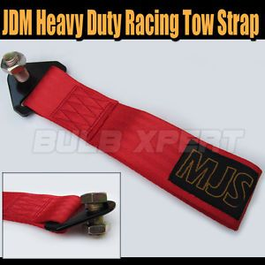 JDM Universal Mitsubishi Lancer EVO Mr Solid Heavy Duty Tow Strap Towing Rope