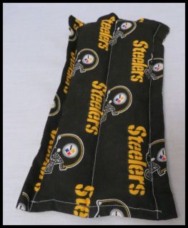 Small Heating Cooling Pad Microwavable Therapeutic Corn Bag Steelers