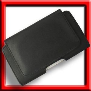 Leather Case for Motorola ATRIX 2 MB865 II Pouch Holster Cover Black Skin Clip