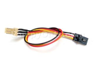 3 Pin Fan Cable Adapter Dell Compatible Standard Free s H