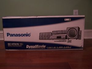 Panasonic SC HT670 5 Disc DVD Home Theater Sound System Brand New in Box