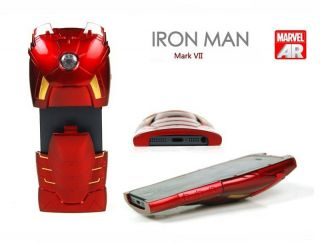 LED Armor Iron Man Avengers Mark VII Collectible Toy Case for iPhone 4 4S 5 5g