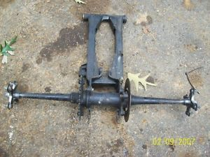 1998 Yamaha Warrior 350 Rear Axle Hubs Swingarm