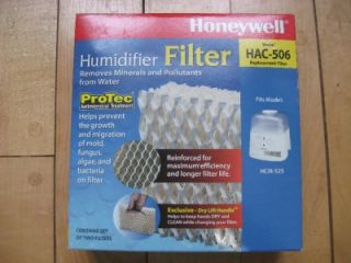 Honeywell Humidifier Replacement Filter HAC 506 HCM 525 2 Pack Cool Moisture New