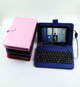 "Keyboard Case Film Stylus for 7"" HKC Android 4 0 Tablet GB6"