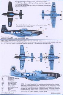 Kits World Decals 1 32 P 51D Mustang 20th Fighter Group