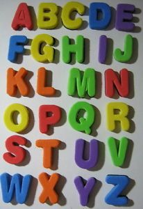 Teacher Supplies Foam Magnetic Alphabet Letters New Early Learning