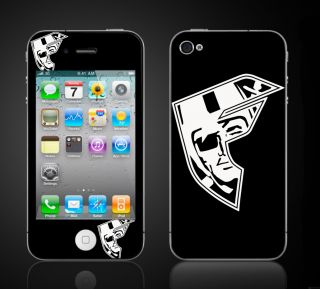 iPhone 4 4S Raiders Skins Famous Stars Straps Oakland Raiders Football IP4FMRAID