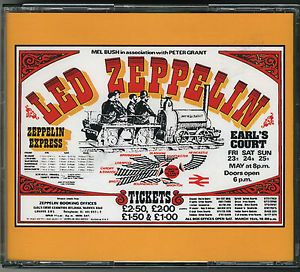LED Zeppelin Earls Court
