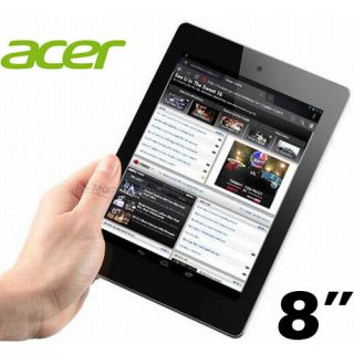 "★acer 8"" Iconia A1 810 Tablet Quad Core 32GB Android 4 2 Jelly Bean WiFi Bluetoo"
