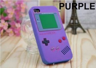 2pcs Soft Nintendo Game Boy Funny Case Cover for Apple iPhone 4 4th 4G 4S