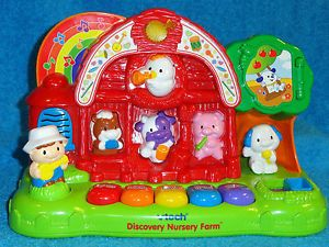 Vtech Discovery Nursery Farm Learning Toy for Little Ones