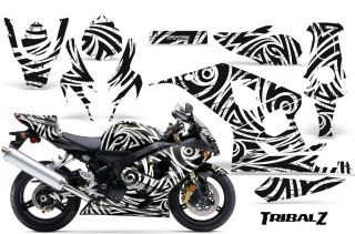 Suzuki GSXR GSX 600 750 2004 2005 Graphic Kits Creatorx Decals Stickers TZW