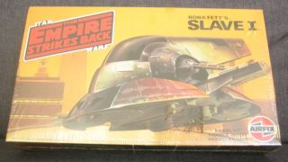 "Star Wars ""Empire Strikes Back"" Slave I Airfix Plastic Kit Shrink Wrapped"