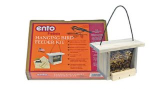 Hanging Bird Feeder Kit Build A Wood Bird Feeder by Tweber Ento Products