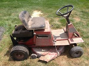 Toro Wheel Horse Riding Mower Lawn Garden Tractor 8 32 Briggs