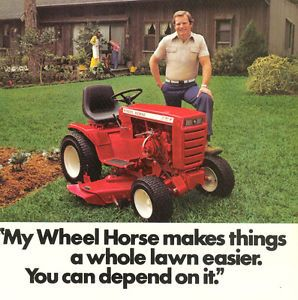 1979 Advertisement Wheel Horse Model C 121 Lawn Garden Tractor