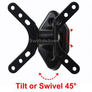Tilt Swivel LCD LED TV Monitor Wall Mount for Samsung 15 17 19 22 23 24 Vesa 1WU