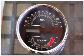 Harley Davidson Speedometer Tach Kit Road King